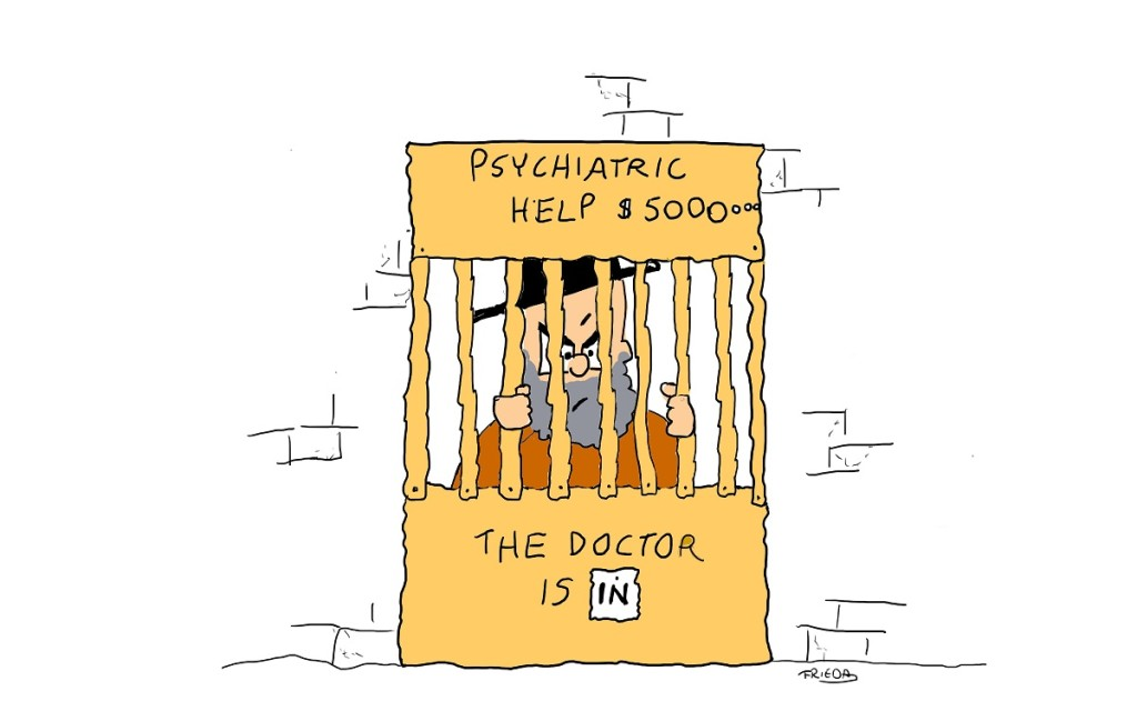 The doctor is in (jail)